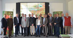 Mitglieder aus Vorstand, Stiftungsrat, Geschäftsführung und Gäste der 21. Stiftungsratssitzung in Bonn