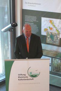 Wolfgang Müller-Varain, Vorstandsmitglied F. Victor Rolff-Stiftung