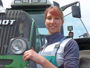 Auszubildende zur Landwirtin (Bildnachweis: Fachschulzentrum Freiburg-Zug)