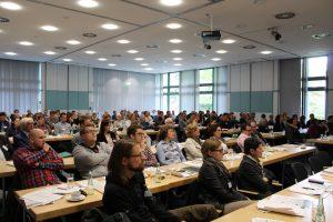 """Auditorium der Tagung """"Wege zu einer erfolgreichen Kompensation"""" am 27.04.2017 in Bonn Stiftung Rheinische Kulturlandschaft"""
