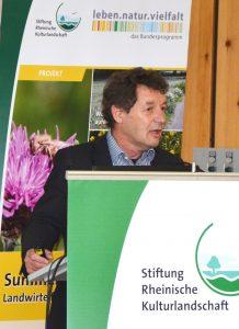 Andreas Krug, Abteilungsleiter Integrativer Naturschutz und nachhaltige Nutzung, Gentechnik des Bundesamtes für Naturschutz
