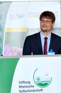 Dr. Heiko Schmied, Projektleiter der Stiftung Rheinische Kulturlandschaft