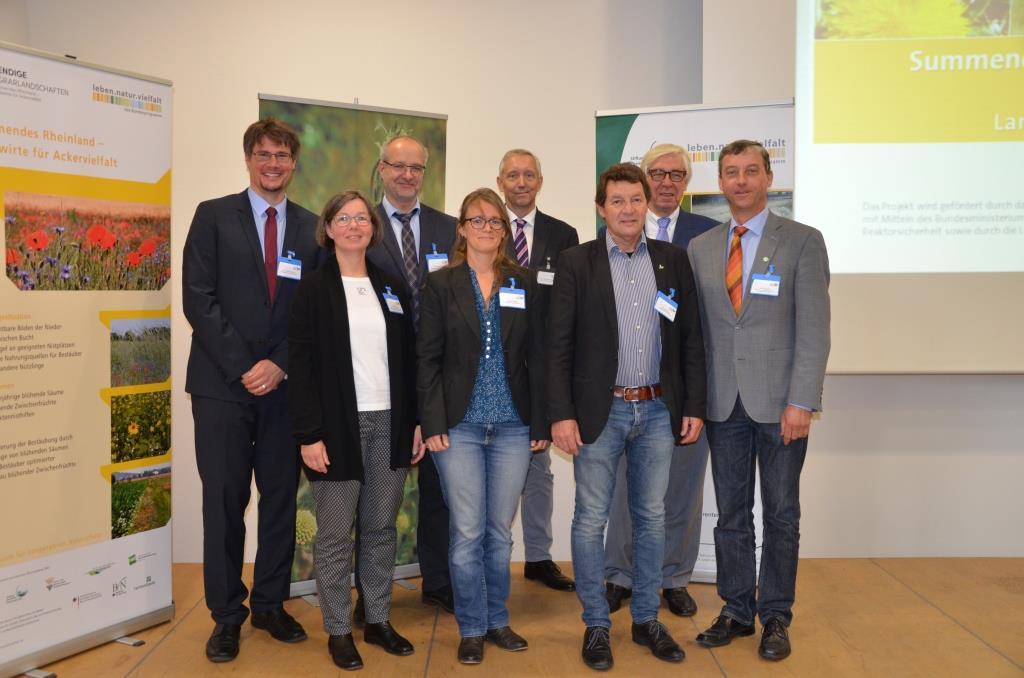 """Referentinnen und Referenten der Tagung """"Trockenes Frühjahr, milde Winter – Landwirtschaft und Naturschutz im Wandel?"""""""