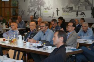 Naturschutzstrategien und ihre Konzepte wurden vormittags diskutiert ... (Foto: Dr. Antje Bischoff)