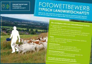"""Aufruf zum Fotowettbewerb """"Typisch Landwirt(schaft)?!"""""""