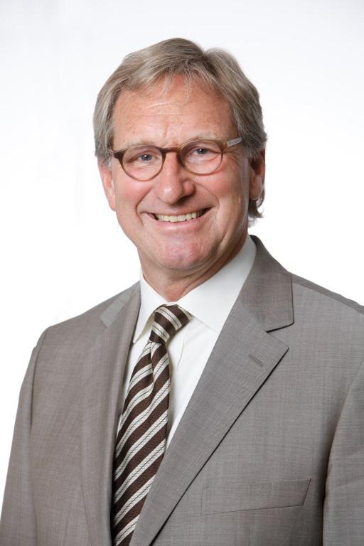 Stiftungsratsvorsitzender Manfred Haesemann