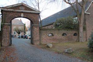 Im Drimbornshof befinden sich die neuen Räume der Zweigstelle Westliches Rheinland.