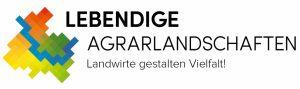 Logo Lebendige Agrarlandschaften Landwirte gestalten Vielfalt Projektverbund Summendes Rheinland Stiftung Rheinische Kulturlandschaft DBV