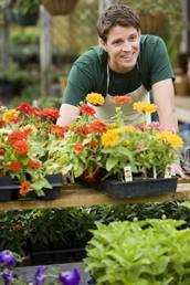 Auszubildender zum Gärtner (Bildnachweis: www.azubiyo.de)