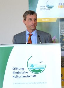 Erich Gussen, Vizepräsident des Rheinischen Landwirtschafts-Verbandes und aktiver Landwirt