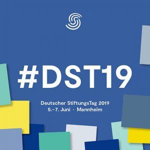 Banner Deutscher StiftungsTag 2019. Quelle: Bundesverband Deutscher Stiftungen